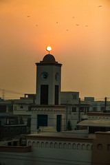 When the sun goes down the darkness rules until the first light #sunset #country #wow #lahore #beautiful #yellow #peace (hassaanniazi) Tags: beautiful peace yellow country lahore sunset wow