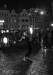 Playing with fire (Nicolas Ferrer) Tags: canoneos60d canon eos60d eos sigmalenses sigmaartlenses sigma30mmf14art blackandwhite blancoynegro street streetphotography streetphoto streetphotoprague