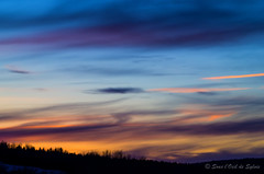Un Ange Souffle des Couleurs dans le Ciel (Sous l'Oeil de Sylvie) Tags: sunset sky mars nature colors evening march raw pentax couleurs ciel paysage soir coucherdesoleil lightroom 2013 k30 vendredisaint sousloeildesylvie 80200mmmanuelle