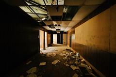 sunnyside office space (Sam Scholes) Tags: shadow building abandoned digital dark utah office garbage nikon urbanexploration sunnyside disarray offices urbex industrialdecay d300 sunnysidecoalmine