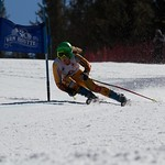 Panorama Spring Series, Stephanie Gartner GS action PHOTO CREDIT: Gregor Druzina
