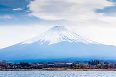 Cloud Over Fuji (notjustnut) Tags: travel mountain lake japan landscape fuji traveller fujisan ropeway mtfuji kawaguchilake