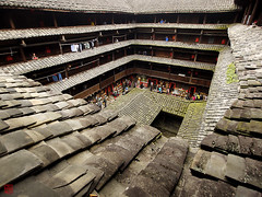Innenhof (sring77) Tags: china architecture traditional  fujian  tulou