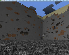 strip_mining_4 (MajorKoenig) Tags: game horizontal screenshot open pit mining gaming strip videogame autism bedrock stripmining openpitmining minecraft