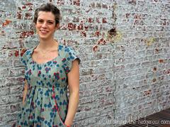 simplicity1800 (2) (laurabehindthehedgerow) Tags: dress simplicity pinkchalkfabrics