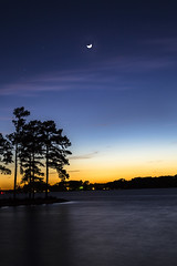 Blue Hour at Lake Murray-1727 (glennrossimages) Tags: blue moon lake long exposure hour murray