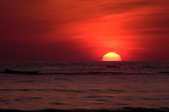 Happy Day! (NatiLady) Tags: ocean light red naturaleza sun luz sol nature riodejaneiro sunrise cores island boat mar nikon barco colours natural natureza vermelho angradosreis ilha 2012 nascerdosol