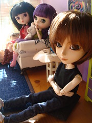 Kuro castigado (Sweet home) 52 (Lunalila1) Tags: fan outfit doll track handmade 11 lila wig shade groove kira xiao iv kuro tachibana xiaofan stica