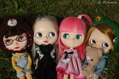 Erika, Avaricia, Haruko y Briony
