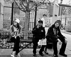 Philadelphia, 2013 (Alan Barr) Tags: street city people urban blackandwhite bw philadelphia monochrome mono blackwhite candid streetphotography olympus sp streetphoto tg1 2013