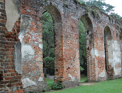 Church Ruins (Tom Spann Photo) Tags: brick abandoned ruins southcarolina churchruins historicchurches oldsheldon brickchurches oldstjoseph historicsounternchurches