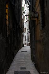 Carrer de les Mosques (SantiMB.Photos) Tags: barcelona street espaa bicycle geotagged calle bicicleta kdd tamron 18200 esp cataluna kuchifm 2kuchikdd geo:lat=4138443011 geo:lon=218211651