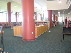 Putting together the new reference desk (Clearwater Public Library System Photos) Tags: construction desk main demolition magazines informationdesk reference clearwater mainlibrary cpls 2013 clearwaterpubliclibrary clearwaterpubliclibrarysystem clearwatermainlibrary mainlibraryconstruction