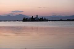After the sunset (Simos1968) Tags: lake ripples portolagos churchofstnicolas vistonis simos1968