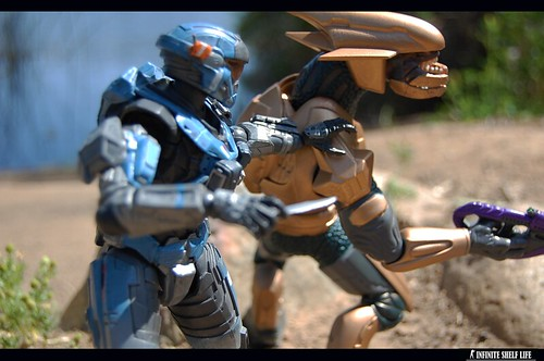 Play Arts Kai Halo Reach Carter / Joyride Studios Elite