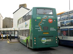 Stagecoach North West 18357 MX55KPJ Carlisle bus station (brucekitchener) Tags: dennistrident stagecoachnorthwest alexanderalx400