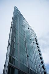 Sharp (photosam) Tags: london architecture prime raw fuji highrise fujifilm deptford lightroom x100 fujifilmx