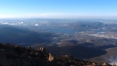 View of Hobart from Mount Wellington. (ekfdang) Tags: australia tasmania hobart mountwellington