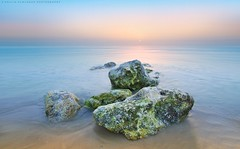 Sunrise (khalid almasoud) Tags: morning light sea sun beach ex weather sunrise dc rocks flickr all photographer pentax  sigma calm rights edge estrellas kuwait af ideal khalid reserved f35 icapture     greatphotographers  hsm    photographyrocks k01 10mm20mm almasoud  gnneniyisi