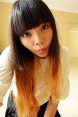 :P (treasurebelle) Tags: me girl indonesia ombre indonesian deedee gyaru selca ombrehair treasurebelle piccolettabelle