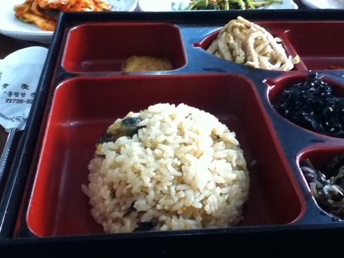 ムール貝ご飯1
