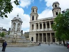 Place St Sulpice (brigeham34) Tags: paris ledefrance avril printemps parisiens placestsulpice glisestsulpice mariageantoine 1semaineparis lafontainestsulpice
