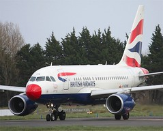 British Airways     Airbus A318          G-EUNB (Flame1958) Tags: shannon airbus tsa britishairways 318 uscustoms snn a318 cbp ba001 shannonairport 0413 usimmigration 2013 einn airbusa318 unitedstatescustoms geunb speedbird1 280413 unitedstatesbordercontrol