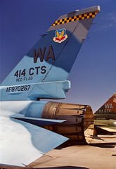 87-0267  F-16C   414 CTS WA-67 (RedRipper24) Tags: tail tails redflag nellisafb aggressor f16c aggressors aircrafttails 870267 aggressoraircraft aircrafttailspotters
