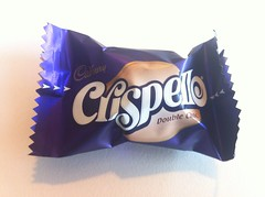 Snack - May 17 - Crispello chocolate (Two Fat Laddies) Tags: food blog chocolate meals meal diet unhealthy dieting twofatladdies crispello uploaded:by=flickrmobile flickriosapp:filter=nofilter