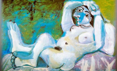 "Majas, homenajes de Francisco de Goya y Lucientes (1802), Eugéne Delacroix (1826), Amadeo Modigliani (1916), Pablo Picasso (1906), (1931), (1959), (1964). • <a style=""font-size:0.8em;"" href=""http://www.flickr.com/photos/30735181@N00/8747972836/"" target=""_blank"">View on Flickr</a>"