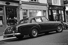 1960 Bentley S2 Continental Flying Spur by H.J. Mulliner (Spanish Coches) Tags: london by spur flying hill continental londres hj bentley notting s2 1960 mulliner