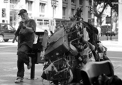 Untitled (Chris28mm) Tags: life street bw man photography los angeles