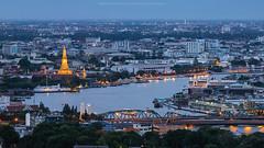 Bangkok view - Wat Arun