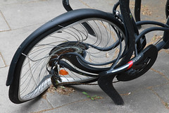 A bike from another universe (Cactipal) Tags: bike distorted accident cactipal