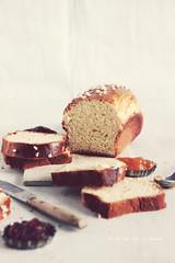 painbrioche0511 (la cerise sur le gâteau) Tags: food cooking breakfast bread baking pain patisserie pastry brunch jam brioche