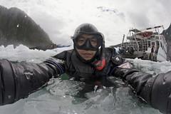echeng070701_120118 (echeng) Tags: people ice alaska boat underwater unitedstatesofamerica glacier iceberg echeng ericcheng