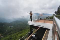 View from Grand Palace Hotel, Yercaud (Yesmk Photography) Tags: grandpalace hotel yercaud viewpoint aman standing sky hills touristspot summarvacation muthukumar yesmkphotography landscape travel tourism tokina 1116mm d90 nikon