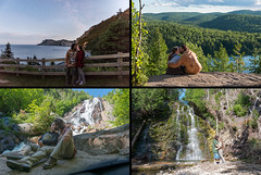 Wherever you are (grimaux.jordan) Tags: together wherever you everywhere nature couple loving love waterfall forest wood night day stars lake river rock canada qubec kissing kiss