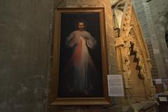 Jesus Misricordieux (MrBlackSun) Tags: abbey abbaye abbatiale saintrobert chaisedieu clement vi france auvergne hauteloire nikon d810