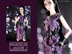 JANAINA 2016 2 (marcelojacob) Tags: marcelo jacob autumn 2016 janaina dres 2 elise jolie starlet cinematic barbie style doll apparel dress lace poppy parker manuel j rodriguez ldolls reroot