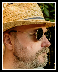 Me (veggiesosage) Tags: me myself i self selfportrait hat sunglasses strawhat fujifilm fujifilmx20 x20
