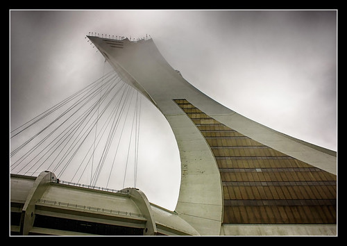 Montreal CA - Tower of the Olympic Stadium