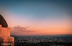Sunset over LA (Alex Chilli) Tags: sunset la losangeles california cali sun sky orange griffith observatory view vista