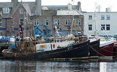 Fishing Trawler Sheigra (SY.7) Stornoway harbour Scotland (David Russell UK) Tags: fishing trawler boat ship vessel sheigra sy7 sy 7 stornoway harbour port water pier quay quayside isle island lewis scotland scottish outer hebrides outdoor wave crest comrade vehicle waterfront