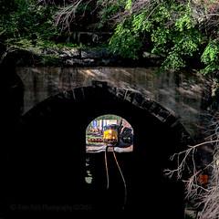 Tunnel vision (Beyond Trains) Tags: csx 889 3294 5263 5210 q003 train transport transportation railroad tunnel csxriverline ge generalelectric es44ach bearmountain 1902 fortmontgomery