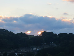 The hills have eyes (waldopepper) Tags: haworth sunset