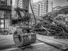 Lime Street Demolition (mobilevirgin) Tags: liverpool limestreet demolition