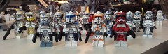 Clone Army Leaders (Johnny-boi) Tags: lego star wars clone army customs minifig minifigure 2016 commander captain fox rex wolffe cody 2017 minifigures