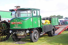 1916 Sentinel Steam Waggon AW 3321 (SR Photos Torksey) Tags: lincolnshire steam vintage vehicle rally show showground truck transport traction engine sentinel waggon