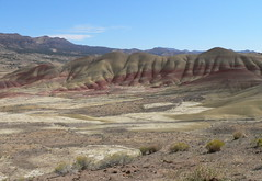 042-20 2007 USA Tour, Oregon, John Day Fossil Beds, Painted Hills Unit (Aristotle13) Tags: 2007 usa tour oregon paintedhills